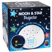 Moon and Star Projector