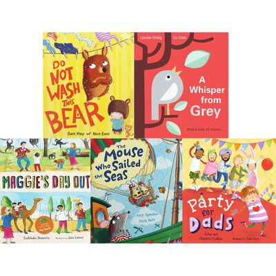 Cat and Mouse Adventures: 10 Kids Picture Books Bundle image number 2