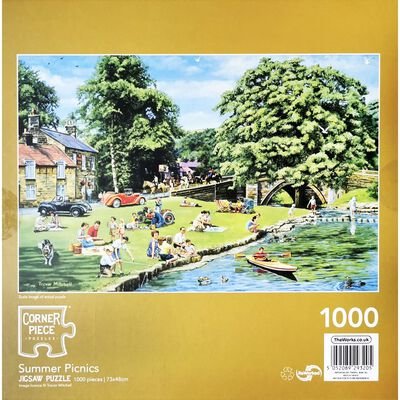 Summer Picnic 1000 Piece Jigsaw Puzzle image number 3