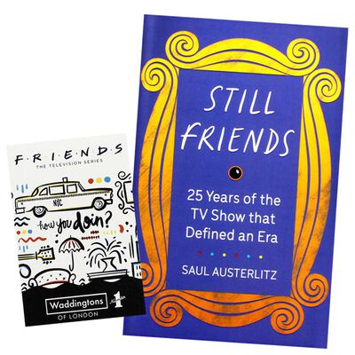 Friends Playing Cards and Still Friends Book Bundle image number 1