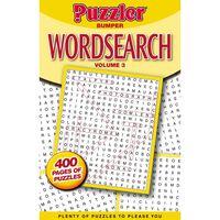 Puzzler Bumper Wordsearch Book