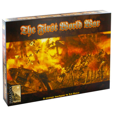 The First World War Strategy Board Game image number 1