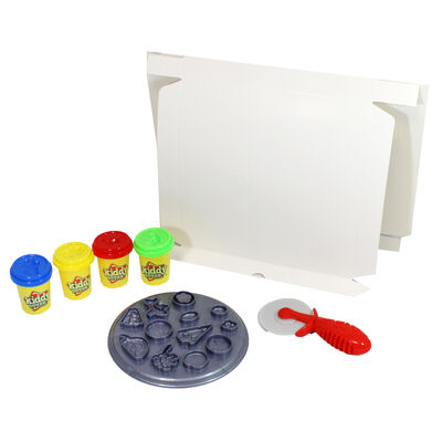 Pizza Party Modelling Dough Play Set image number 3