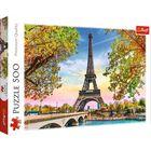 Romantic Paris 500 Piece Jigsaw Puzzle image number 1