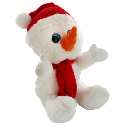 Snuggly Snowman Plush Soft Toy image number 1