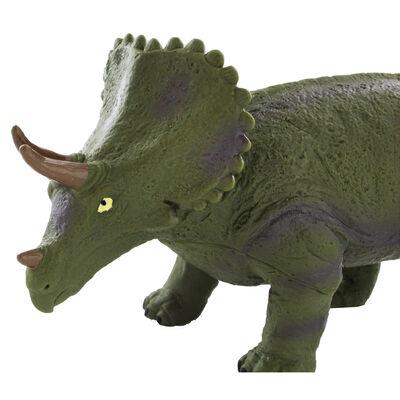 12 Inch Triceratops Soft Dinosaur Figure image number 3