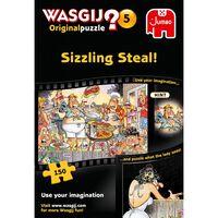 Wasgij Original 5 Sizzling Steal 150 Piece Jigsaw Puzzle