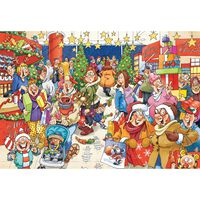 Wasgij Christmas Chaos 1000 Piece Jigsaw Puzzle