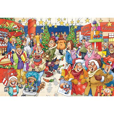 Wasgij 10 The Mystery Shopper 1000 Piece Jigsaw Puzzle image number 2