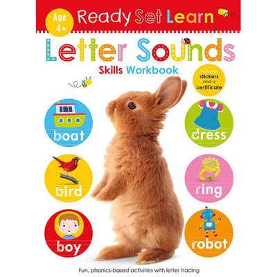 Ready Set Learn: Letter Sounds Skills Workbook image number 1