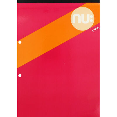 NU A4 Vibe Refill Notepad image number 1