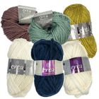 Wool Yarn Bundle: Pack of 42 Assorted Colours image number 1