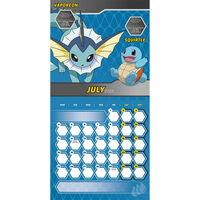 Official Pokemon 2022 Square Calendar