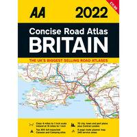AA Concise Road Atlas Britain 2022