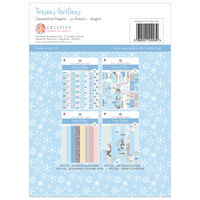Season's Greetings Decorative Paper Pad