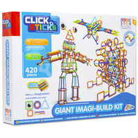 Clicksticks Giant Imagi-Build 420 Piece Set