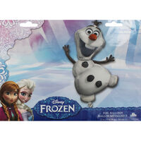 23 Inch Disney Frozen Olaf Super Shape Helium Balloon