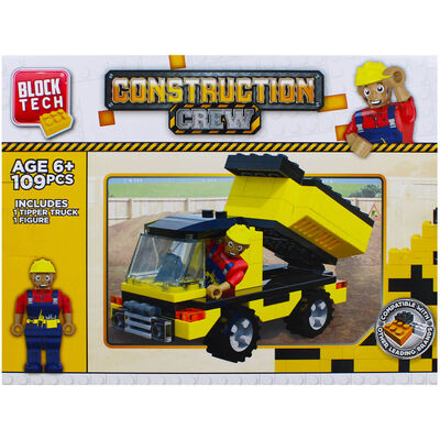 Block Tech Construction Crew Playset image number 2
