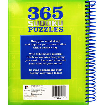 365 Sudoku Puzzles image number 3