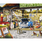 Daytons Garage 500 Piece Jigsaw Puzzle image number 2
