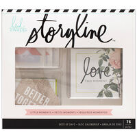 American Crafts: Heidi Swapp Storyline Collection: Deck of Days 76 Piece Journal Kit