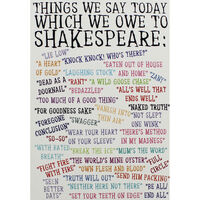 A5 Flexi Shakespeare Sayings Lined Notebook