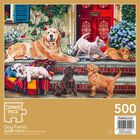 Dog Family 500 Piece Jigsaw Puzzle image number 3