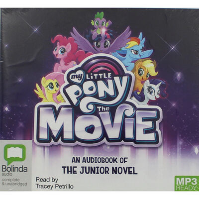 My Little Pony The Movie: MP3 CD image number 1