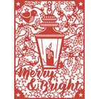 Merry Bright Craft A Card Metal Cutting Die image number 2