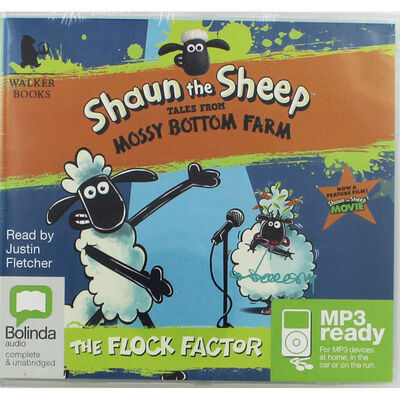 Shaun the Sheep Tales from the Mossy Bottom Farm: MP3 CD image number 1