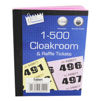 Assorted Cloakroom and Raffle Tickets