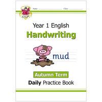KS1 Handwriting Daily Practice Book: Year 1 Autumn Term