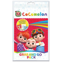 Cocomelon Grab and Go Pack: Colouring Book Set
