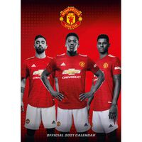 The Official Manchester United 2021 Calendar