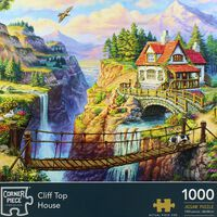 Cliff Top House 1000 Piece Jigsaw Puzzle