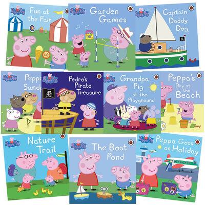 Peppa Pig Tales: 10 Kids Picture Books Bundle image number 1