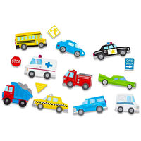 Rescue Cars Wall Stickers