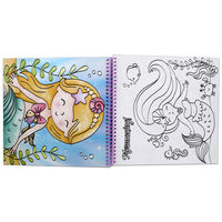 Mermaid Colour and Sticker Book