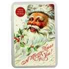 8 Vintage Christmas Cards in Tin - Father Christmas image number 1