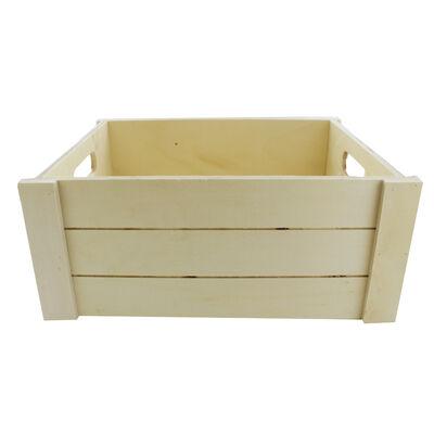 Large Wooden Crate Hamper image number 2
