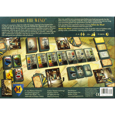 Before The Wind Board Game image number 3