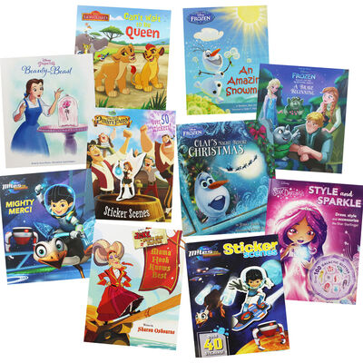 Disney Stories: 10 Kids Picture Books Bundle image number 1