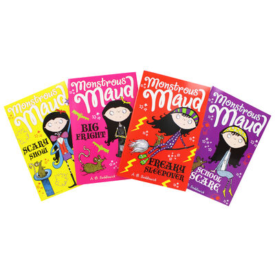 Monstrous Maud: 4 Book Collection image number 2