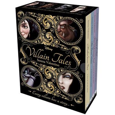 Disney Villain Tales: 4 Book Box Set image number 1