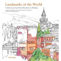 Landmarks Of The World Colouring Book