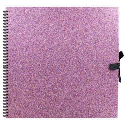 Purple Glitter Scrapbook - 12x12 Inch image number 1