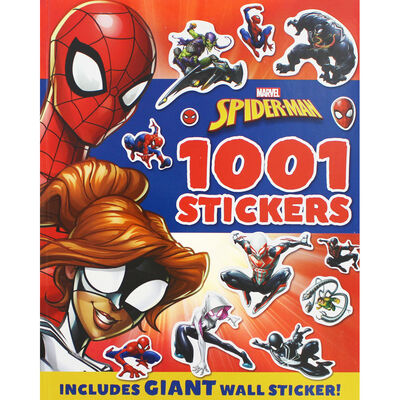 Marvel Spiderman: 1001 Stickers image number 1