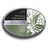 Spectrum Noir Midas Metallic Pigment Inkpad - Jade Green
