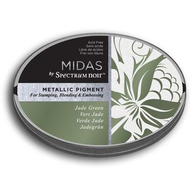 Spectrum Noir Midas Metallic Pigment Inkpad - Jade Green image number 1