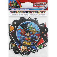 Justice League Happy Birthday Letter Banner